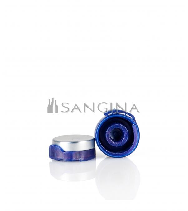 26 mm x 12 mm Aluminium med blå plastöppnare