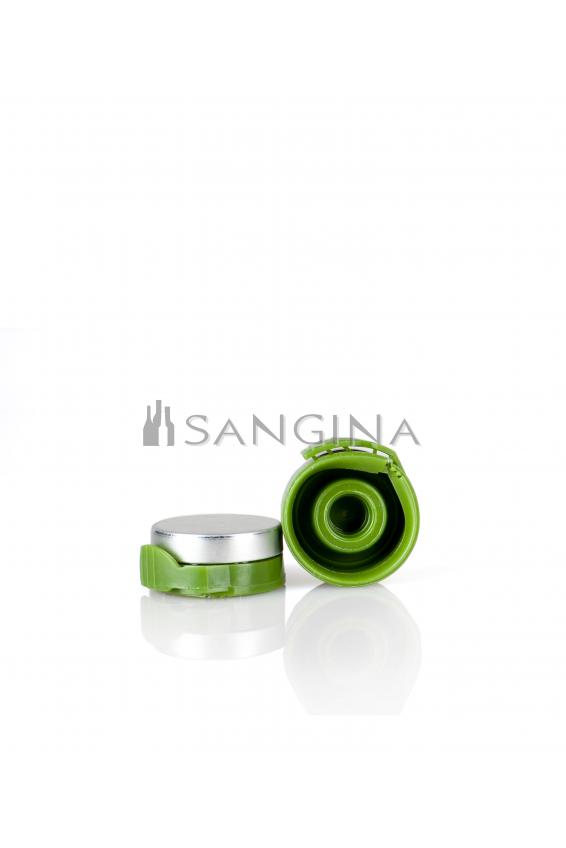 26 mm x 12 mm Aluminium med grön plastöppnare