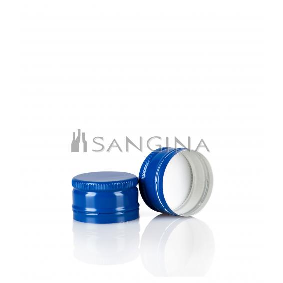 28 mm x 18 mm Blau
