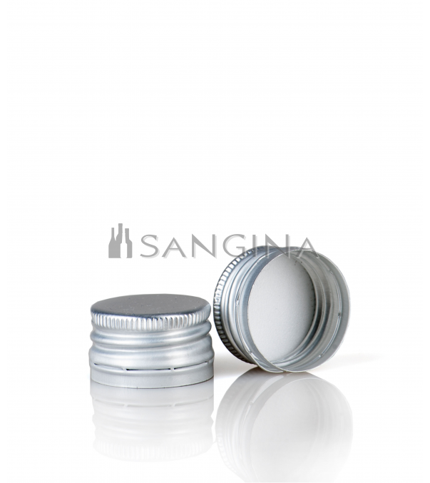 28 mm x 18 mm Silver color with thread