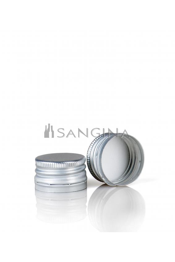 28 mm x 18 mm Kolor srebrny z gwintem