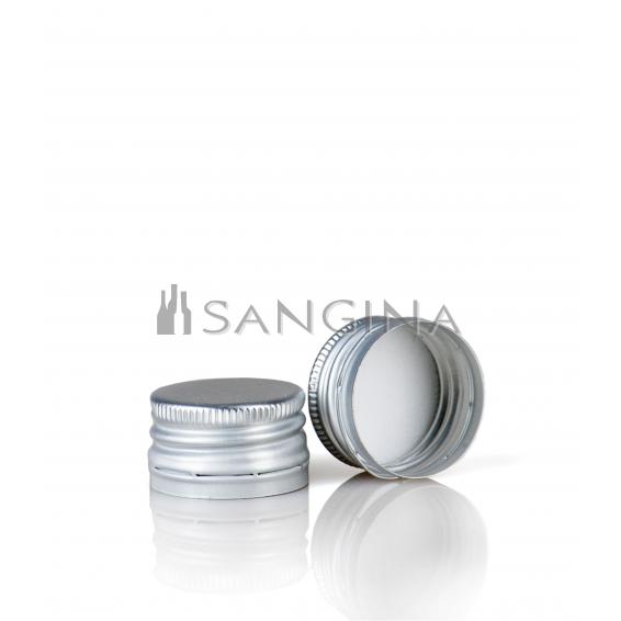 28 mm x 18 mm Silberne Farbe mit Schraube