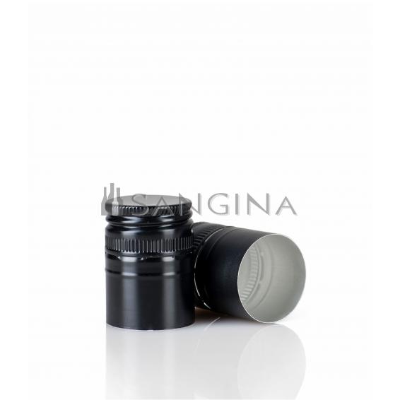 28 mm x 38 mm Glänzend-schwarze