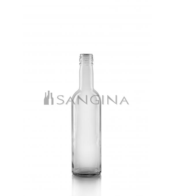 375 ml. stikliniai buteliai Round