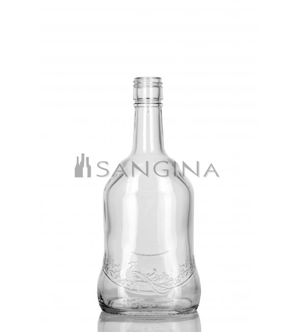 Стеклянные бутылки емкостью 500 мл Бренди