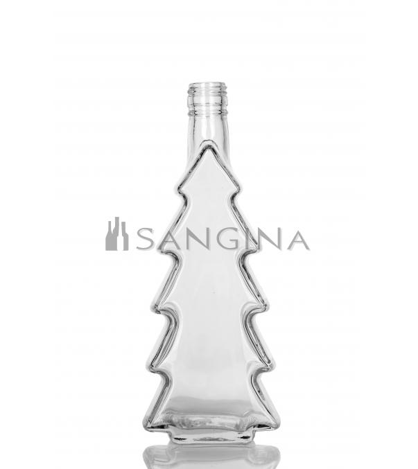 500ml Glasflaschen Weihnachtsbaum