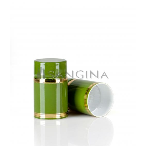 58 x 33,5 mm žali plastikiniai kamšteliai